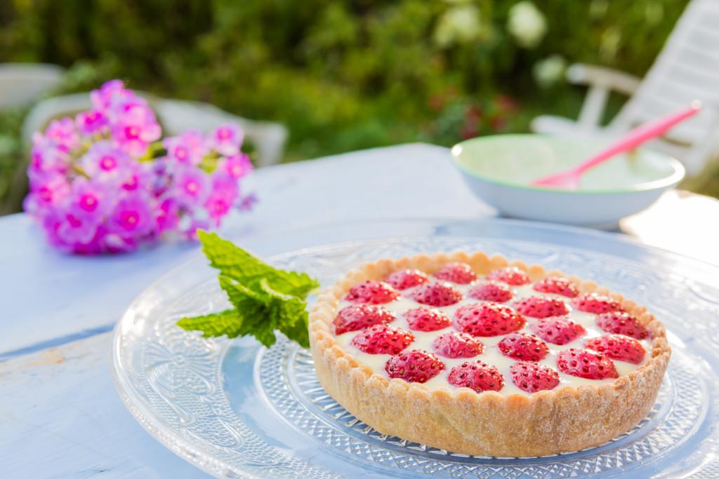 Le Jardin à Emporter - Tarte aux fraises