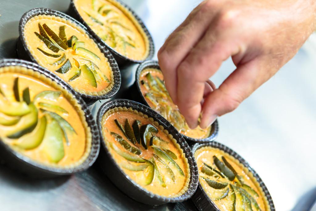 Cuisine : Préparation des tartes aux légumes